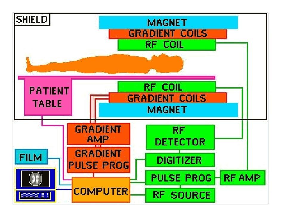 mri cyrogenics rh slideshare net How Do MRI Gradients Work MRI Machine Components