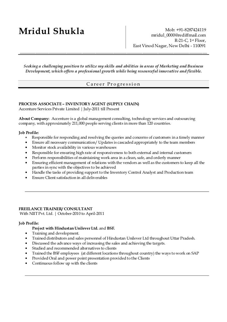 Dating resume