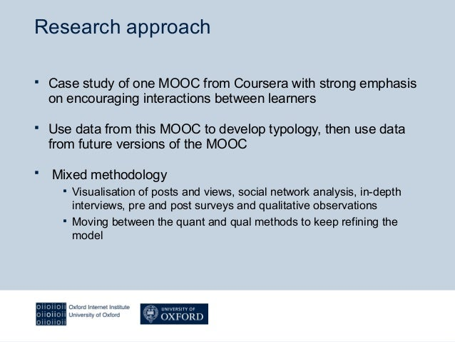 Towards conceptualising interaction and learning in Massive Open Online Courses (MOOCs) Slide 3