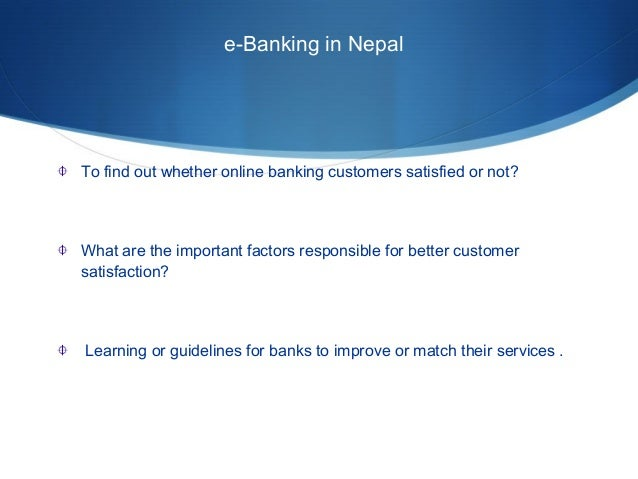 e banking in nepal pdf