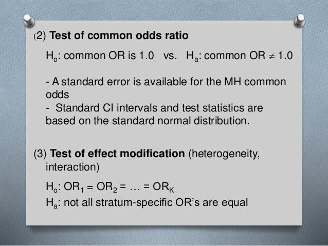 case control studies and odds ratio We only get odds ratio from a case control study which is an inferior measure of strength of association as compared to relative risk definition the case.