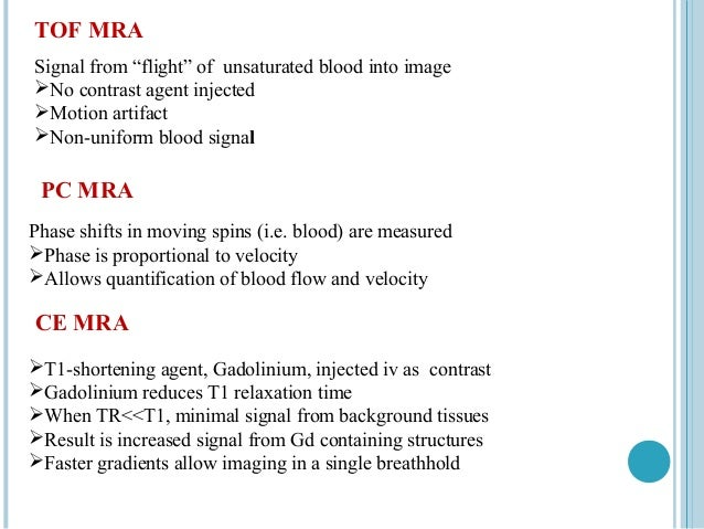 MRA lateral view             1.    Anterior cerebral artery             2.    Anterior communicating artery             3....