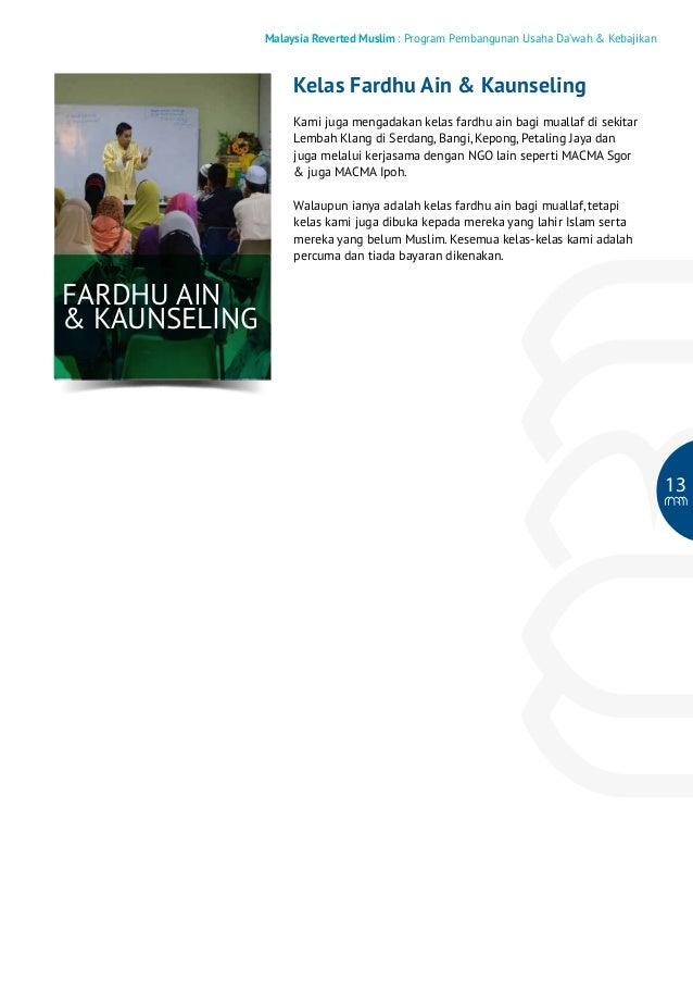 Malaysia Reverted Muslim : Program Pembangunan Usaha Da'wah & Kebajikan  Kelas Fardhu Ain & Kaunseling Kami juga mengadaka...