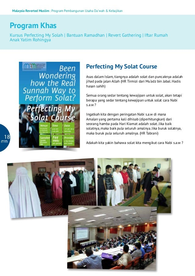 Malaysia Reverted Muslim : Program Pembangunan Usaha Da'wah & Kebajikan  Program Khas Kursus Perfecting My Solah   Bantuan...