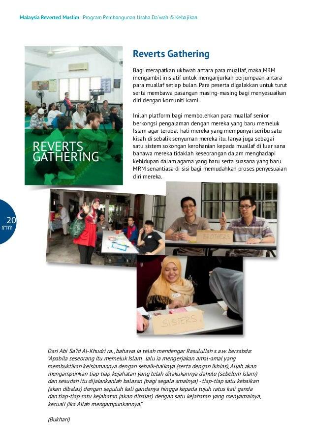 Malaysia Reverted Muslim : Program Pembangunan Usaha Da'wah & Kebajikan  Reverts Gathering Bagi merapatkan ukhwah antara p...