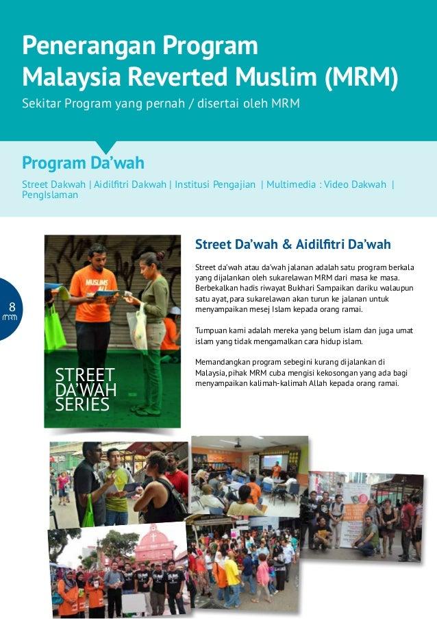 Malaysia Reverted Muslim : Program Pembangunan Usaha Da'wah & Kebajikan  Penerangan Program Malaysia Reverted Muslim (MRM)...