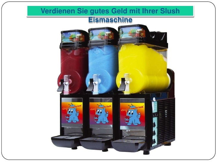 Slush Eismaschine, Slush Eismaschinen, Slush, Monster Slush, Slush Ei… | {Eismaschinen 41}