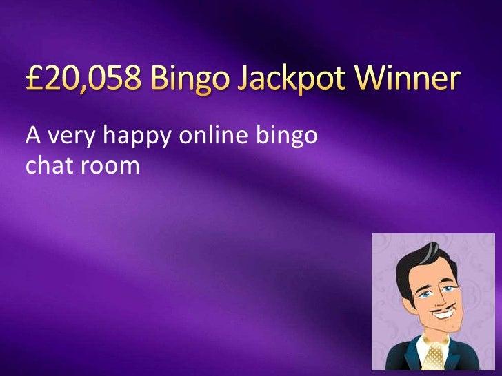 A very happy online bingochat room