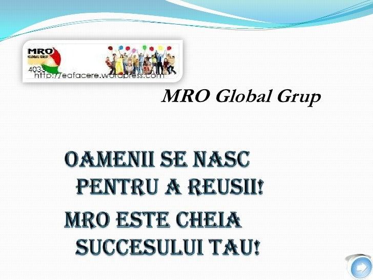 MRO Global Grup