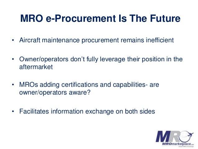 MROmarketplace.com AeroInnovate Pitch Deck Slide 3