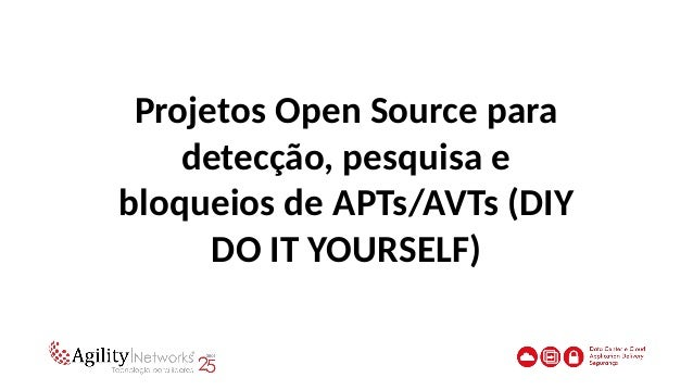 APT - Open Source ToolsAPT - Open Source Tools Aptdetector •https://github.com/abzcoding/aptdetector Ludumdare32 (APT Game...