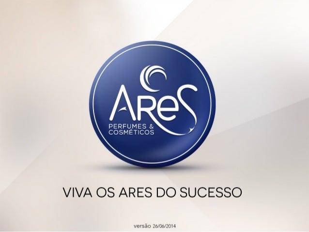 Apresentação do Plano de Negócios (MRP) Ares Perfumes e Cosméticos