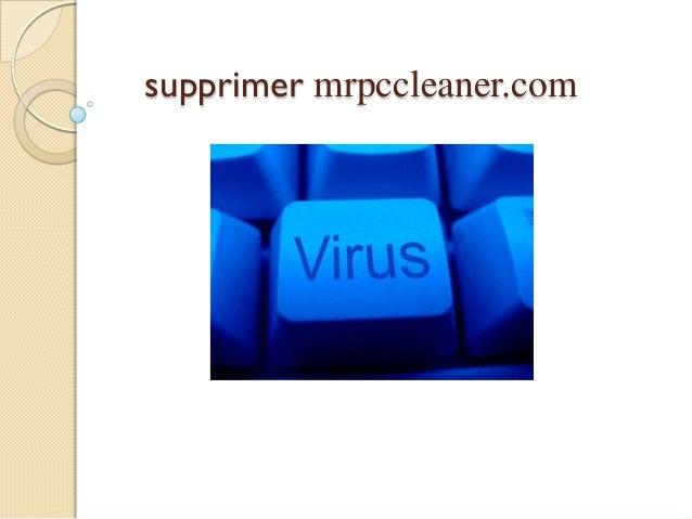 supprimer mrpccleaner.com