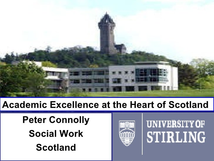 Peter Connolly Social Work Scotland Academic Excellence at the Heart of Scotland