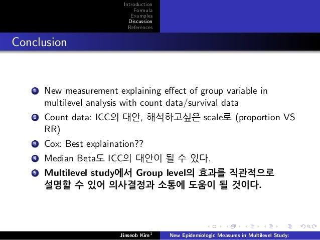 Measuring Risk in Epidemiology Transcript