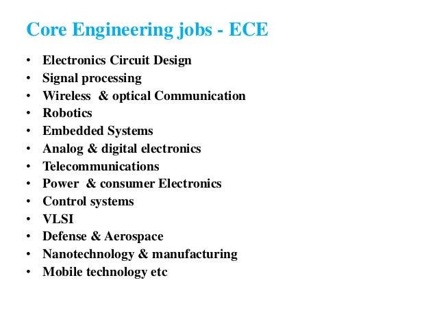 11 core engineering jobs
