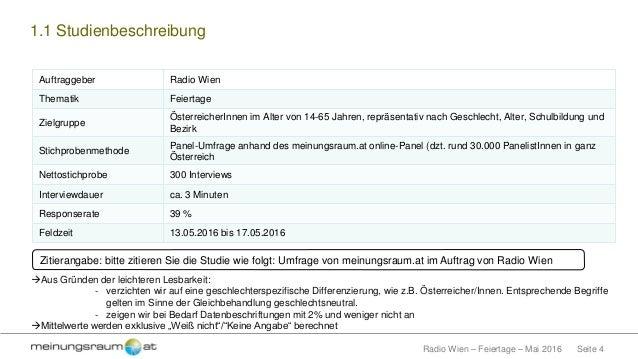 Mrradio Wienfeiertage