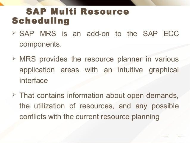 SAP multi resource scheduling online training Slide 2