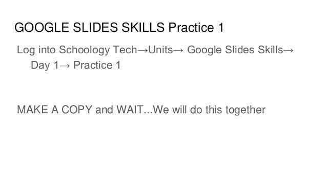 mrs feilbach s google slides on google skills