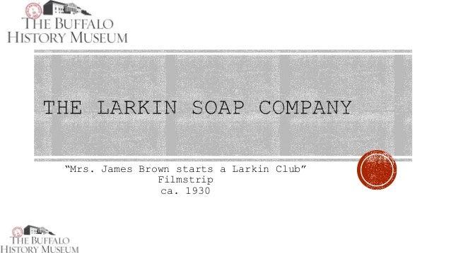 """""""Mrs. James Brown starts a Larkin Club"""" Filmstrip ca. 1930"""