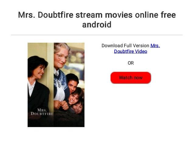 Mrs Doubtfire Stream Deutsch
