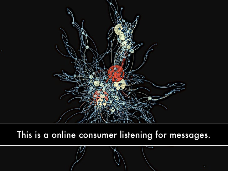 This is a online consumer listening for messages.