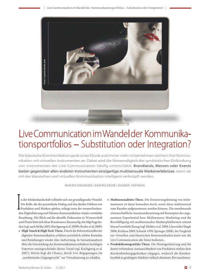 | LiveCommunicationimWandelderKommunikationsportfolios–SubstitutionoderIntegration? |          ...
