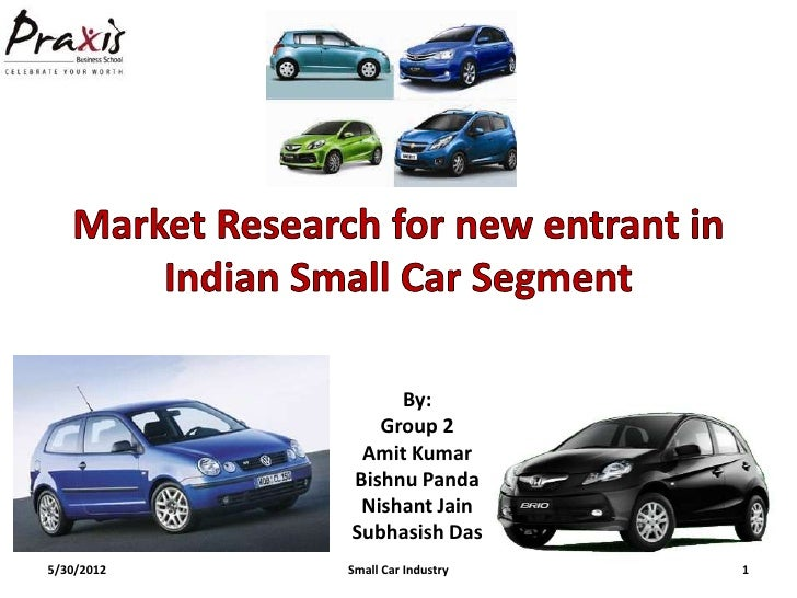 indian consumer preferences for mall car segment Please note that these are some examples only - there are many other ways to segment (divide) a consumer market the important things to remember are: the major categories, that there are hundreds of potentially useful segmentation bases, and that these bases can be used in combination (which is known as hybrid segmentation.