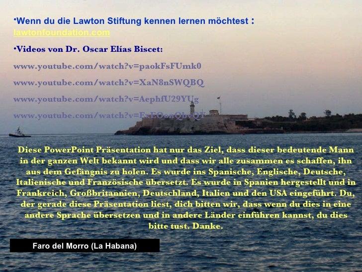 Faro del Morro (La Habana) <ul><li>Wenn du die Lawton Stiftung kennen lernen möchtest   :   lawtonfoundation.com </li></ul...
