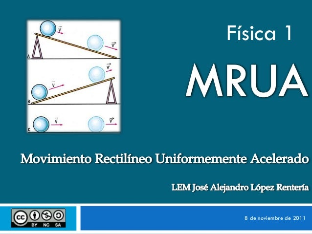 Física 1  8 de noviembre de 2011