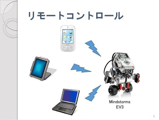 リモートコントロール  Mindstorms  EV3  8