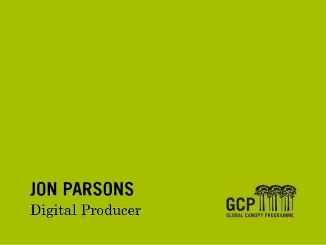 JON PARSONSDigital Producer