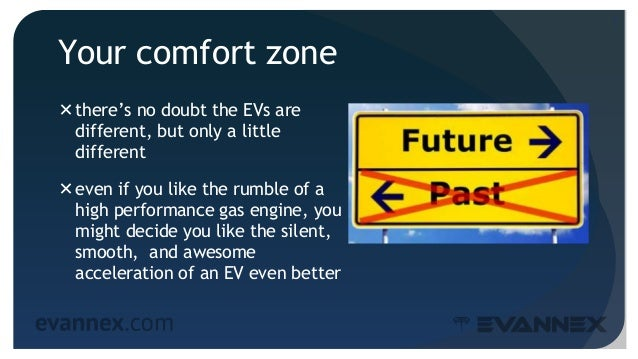 Your comfort zone there's no doubt the EVs are different, but only a little different even if you like the rumble of a h...