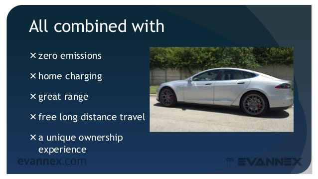 All combined with zero emissions home charging great range free long distance travel a unique ownership experience 7