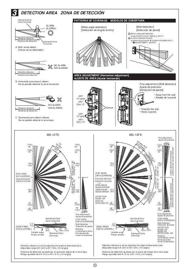 Takex MS-12TE Instruction Manual