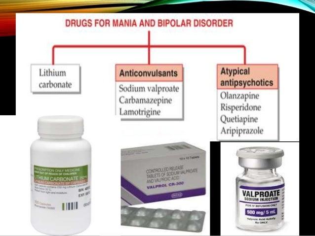 Mood Stabilisers Antimanic Drugs