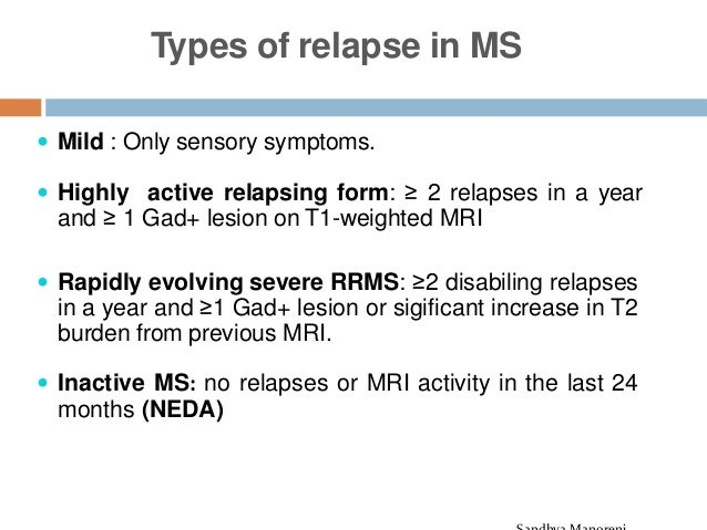 multiple sclerosis- recent guidelines 2018