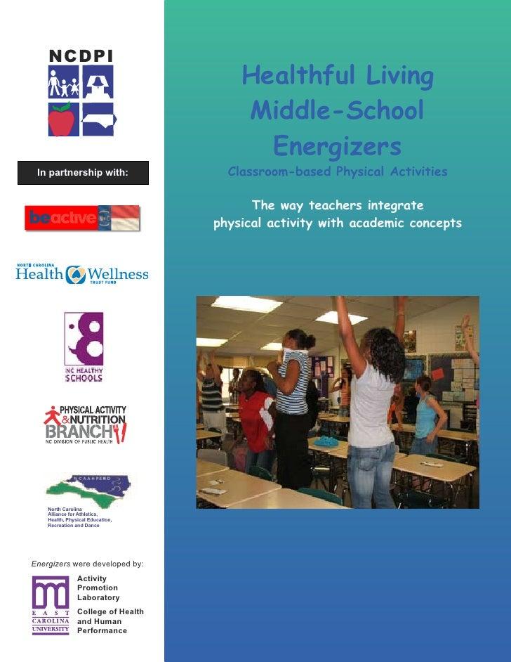 NCDPI                                         Healthful Living                                         Middle-School      ...