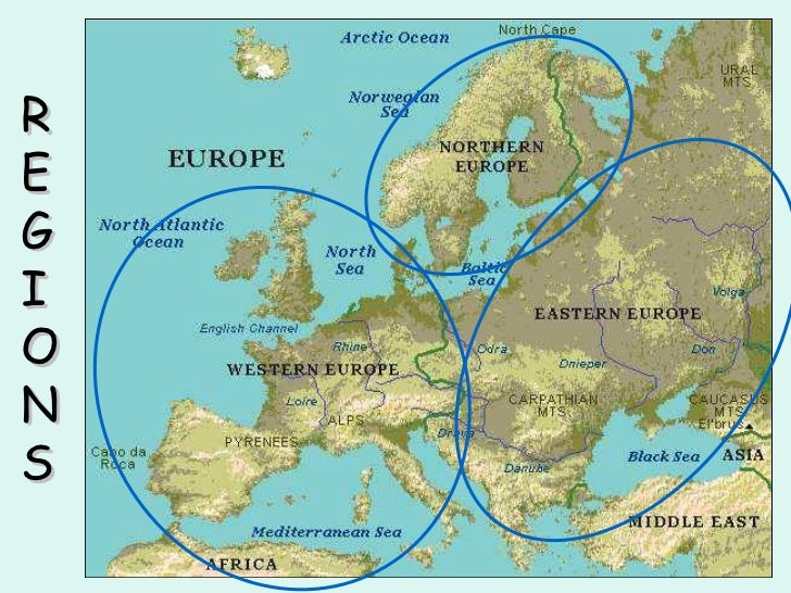 Physical Features of Europe