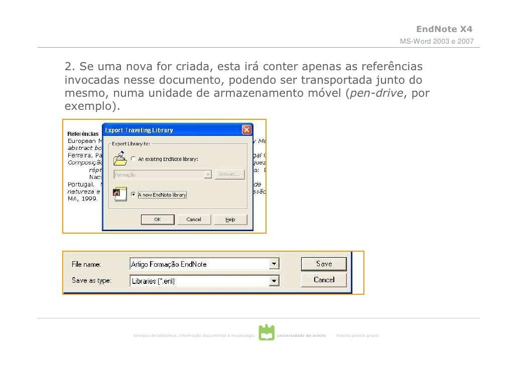 endnote x4