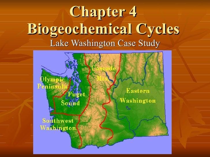 Chapter 4 Biogeochemical Cycles Lake Washington Case Study