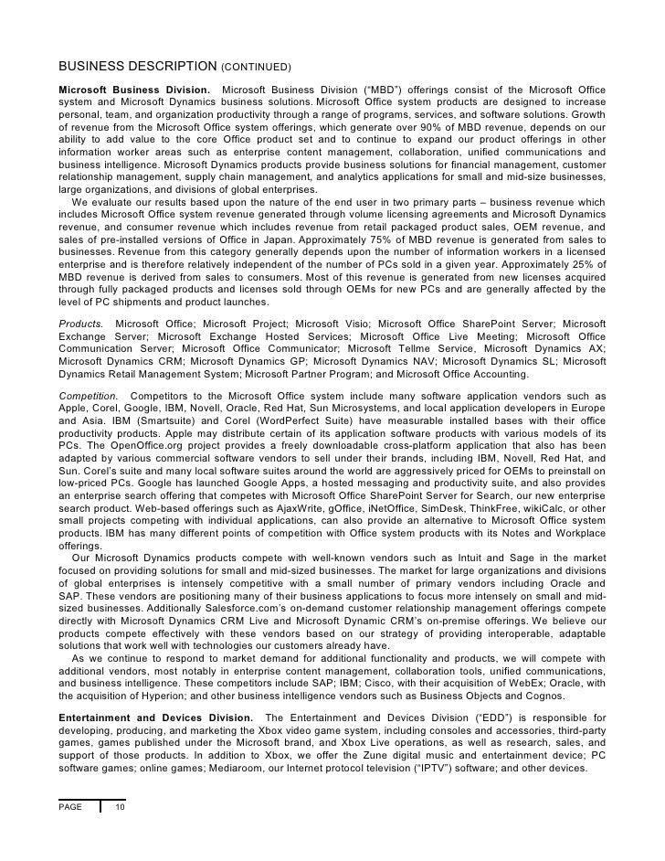 microsoft 2007 annual report