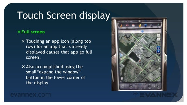 Electric Vehicle University - MS313a Tips for Model S Owners, Touch Screen & Telematics  Slide 3