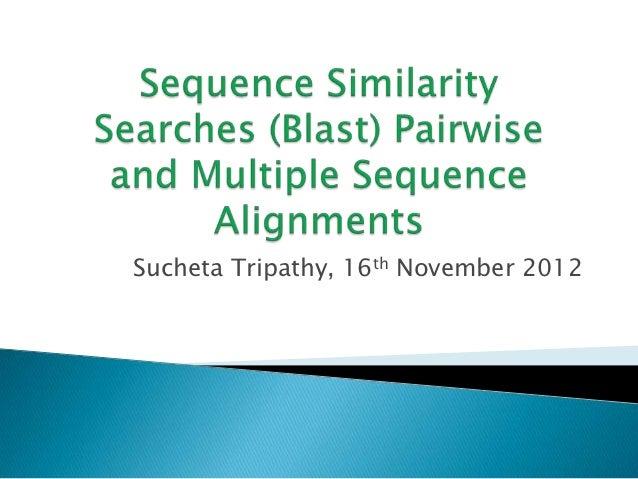 Sucheta Tripathy, 16th November 2012