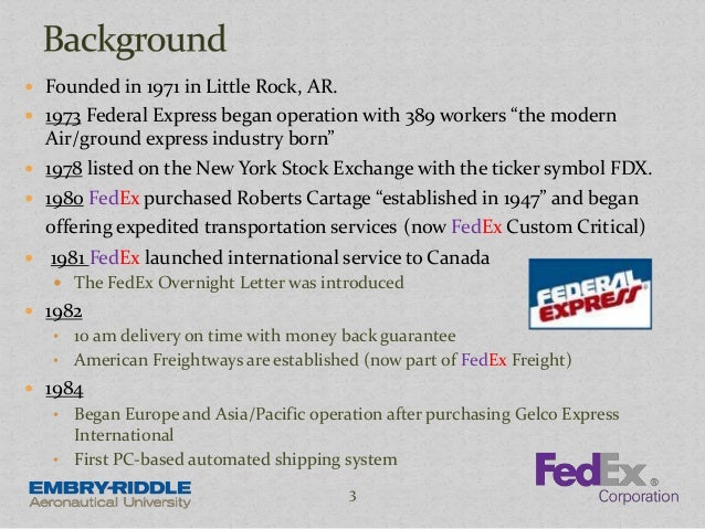 analysis of fedex in the transportation industry Industry analysis d&b hoovers its fedex express unit is the world's #1 express transportation fedex office stores offer a variety of document-related and.