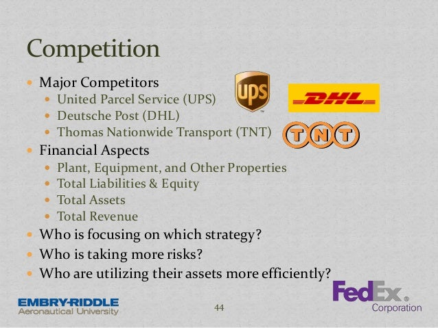 Case Study: United Parcel Service, Inc. (UPS)