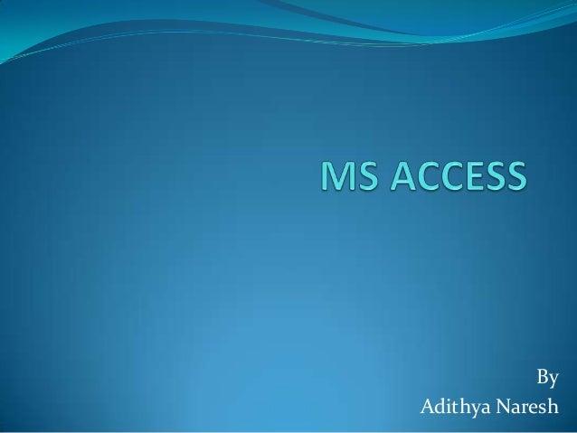 ByAdithya Naresh