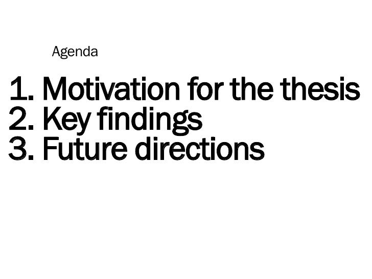 Marko Savić MBA thesis presentation Slide 2