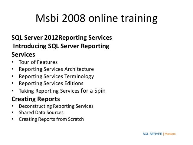 best practices for msbi Reasons bi projects fail, best practices, and lessons learned so your bi project  will fall into the successful category.