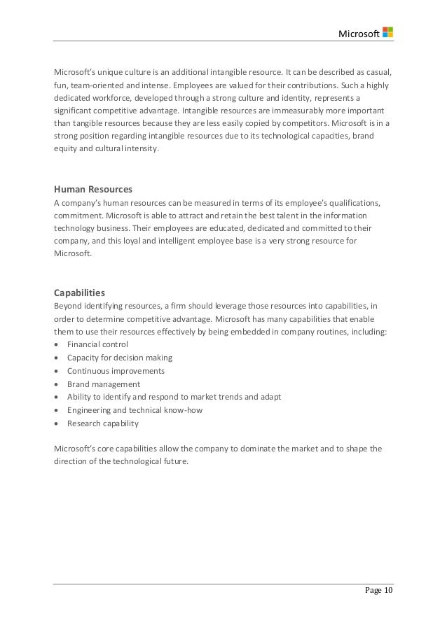 strategic analysis of microsoft inc Looking for newest microsoft corporation swot analysis for 2013 click here to find the example of microsoft's strengths, weaknesses, opportunities and threats.
